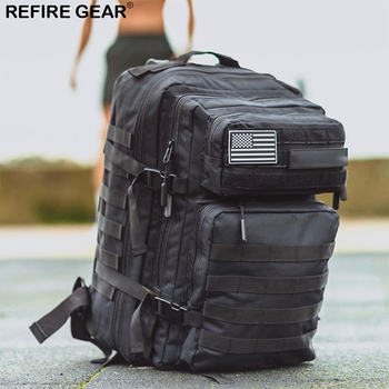 Refire Gear 45L Hiking Gyms Bag Trekking Fitness Backpack Man/Women Waterproof Sports Molle Bug Out Camping Outdoor