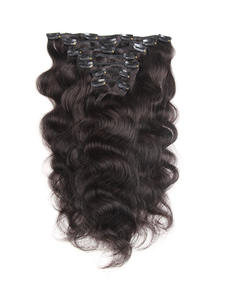 Hair-Extensions Clip-In Human Remy Plus Fashion 120g 18-20inch 7pcs-Set Machine-Made