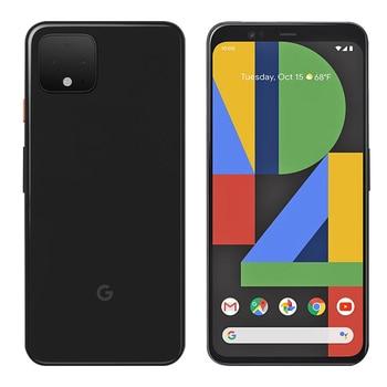 Перейти на Алиэкспресс и купить Абсолютно новый мобильный телефон google pixel 4, 5,7 дюймов, 6 ГБ ОЗУ, 64B ПЗУ, Восьмиядерный процессор Snapdragon 855, Android 10, двойная задняя камера, телефон ...
