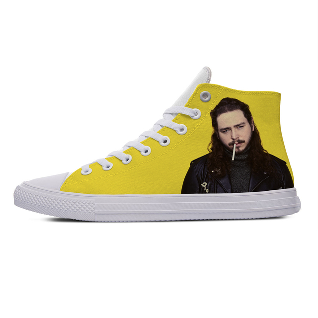 Post Malone Hot Fashion Casual Cloth Shoes 1