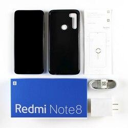 """W magazynie! Xiaomi Redmi Note 8 4GB 64GB Snapdragon 665 octa core telefon komórkowy 48MP Quad tylna kamera 6.3 """"4000 mAh 18W szybka ładowarka 6"""