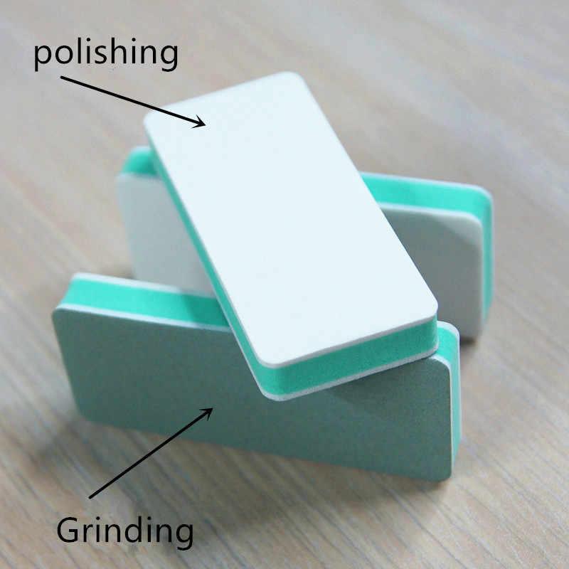 1/3 Pcsเล็บไฟล์ 4 ด้านฟองน้ำเล็บบัฟเฟอร์ขัดขัดเครื่องมือสำหรับเล็บเจลเล็บart Design