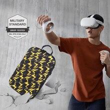 חדש חם EVA להגן על מקרה עמיד למים עבור צוהר Quest/Quest 2 VR משקפיים משחקי אוזניות ואבזרים נסיעות נשיאה מקרה תיק