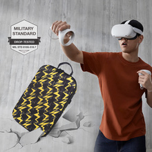 New Hot EVA Protect Waterproof Case for Oculus Quest/Quest 2 VR Glasses Gaming Headset and Accessories Travel Carrying Case Bag