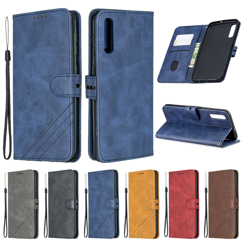 For Samsung Galaxy A50 Case Leather Flip Case For Coque Samsung A50 Phone Case Galaxy A50 A 50 A505F Funda Magnetic Wallet Cover