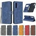 Чехол для Samsung Galaxy A50, кожаный чехол-книжка для Samsung A50, чехол для телефона Galaxy A50, A, 50, A505F, Магнитный чехол-бумажник