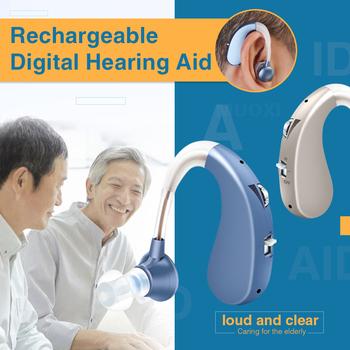2020 nowy tanie akumulator aparaty słuchowe cyfrowe wzmacniacze dźwięku aparaty słuchowe aparaty słuchowe DropShipping najlepsze aparaty słuchowe tanie i dobre opinie KASI audifonos Hearing Aids headphones sound amplifier rechargeable hearing aids hearing aids digital mini hearing aids