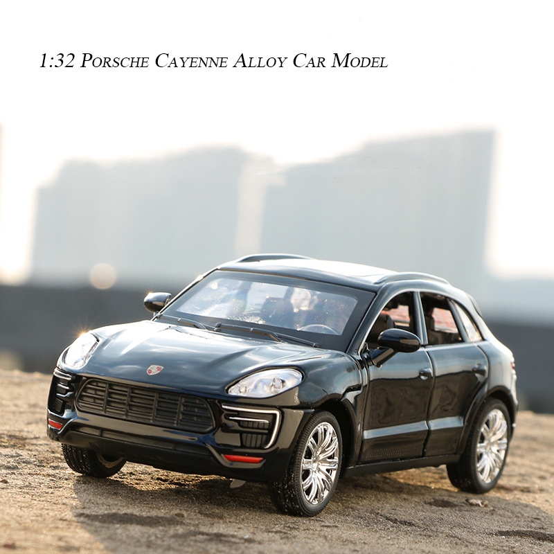1:32 High Simitation Cayenne Alloy Car Model Diecasts & Toy Vehicles Original Authorization Car Toys For Children
