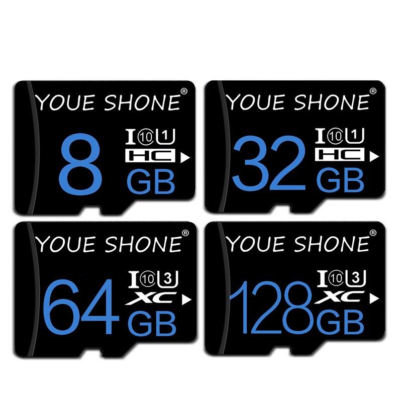 Carte Sd Class 10 32gb Microsd 8GB 16GB Sd Card 64gb Memory Card 32gb Micro SD Card Cartao De Memoria 128GB With Free Adapter