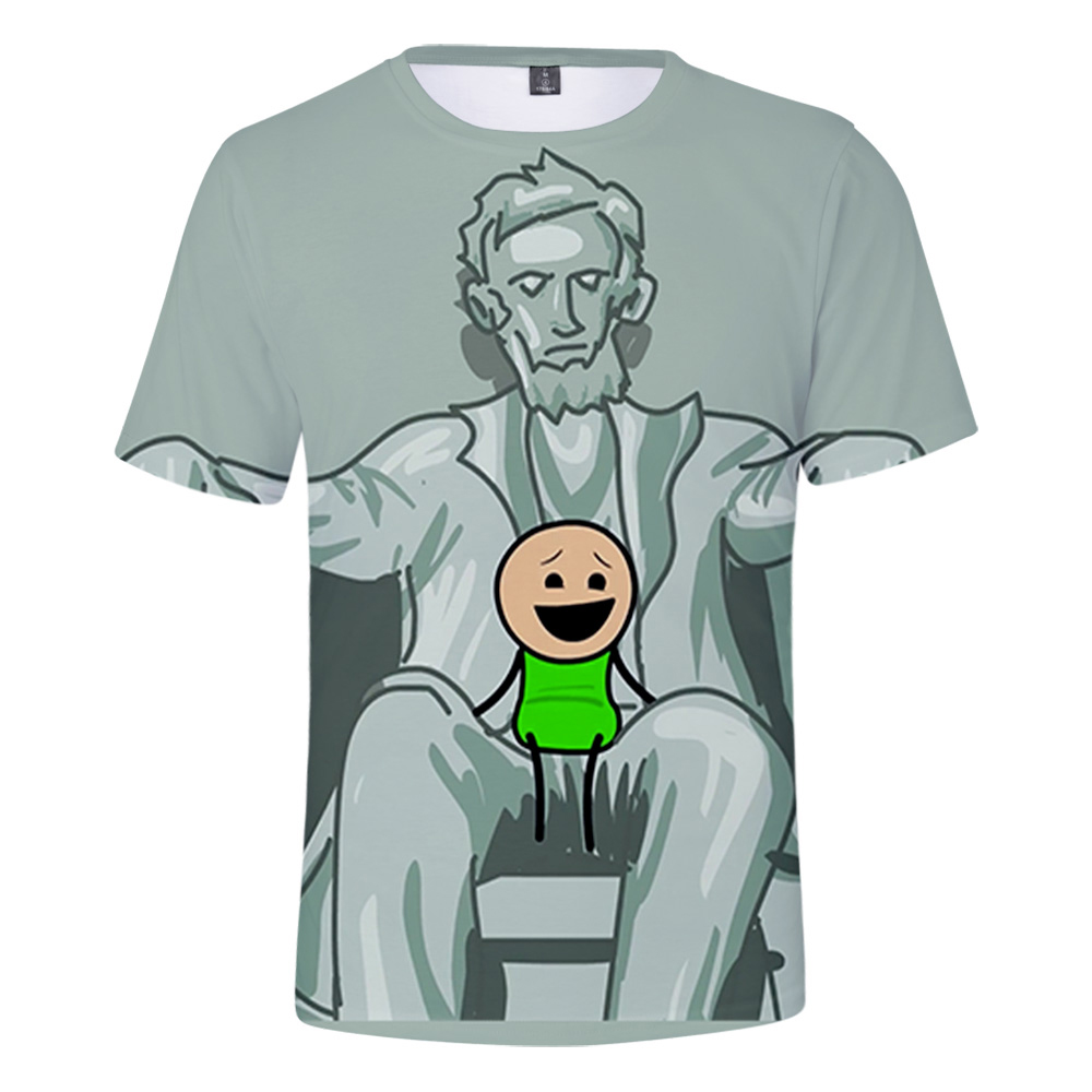 The Cyanide & Happiness Show 3D t shirt for children's shorts sleeve summer o-neck tshirts in boys/girls Fashion popular 3D tees image