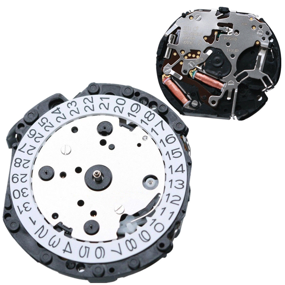 Watch Movement Quartz Movement Repair Replacement For JAPAN VD SERIES VD53C VD53 Movement
