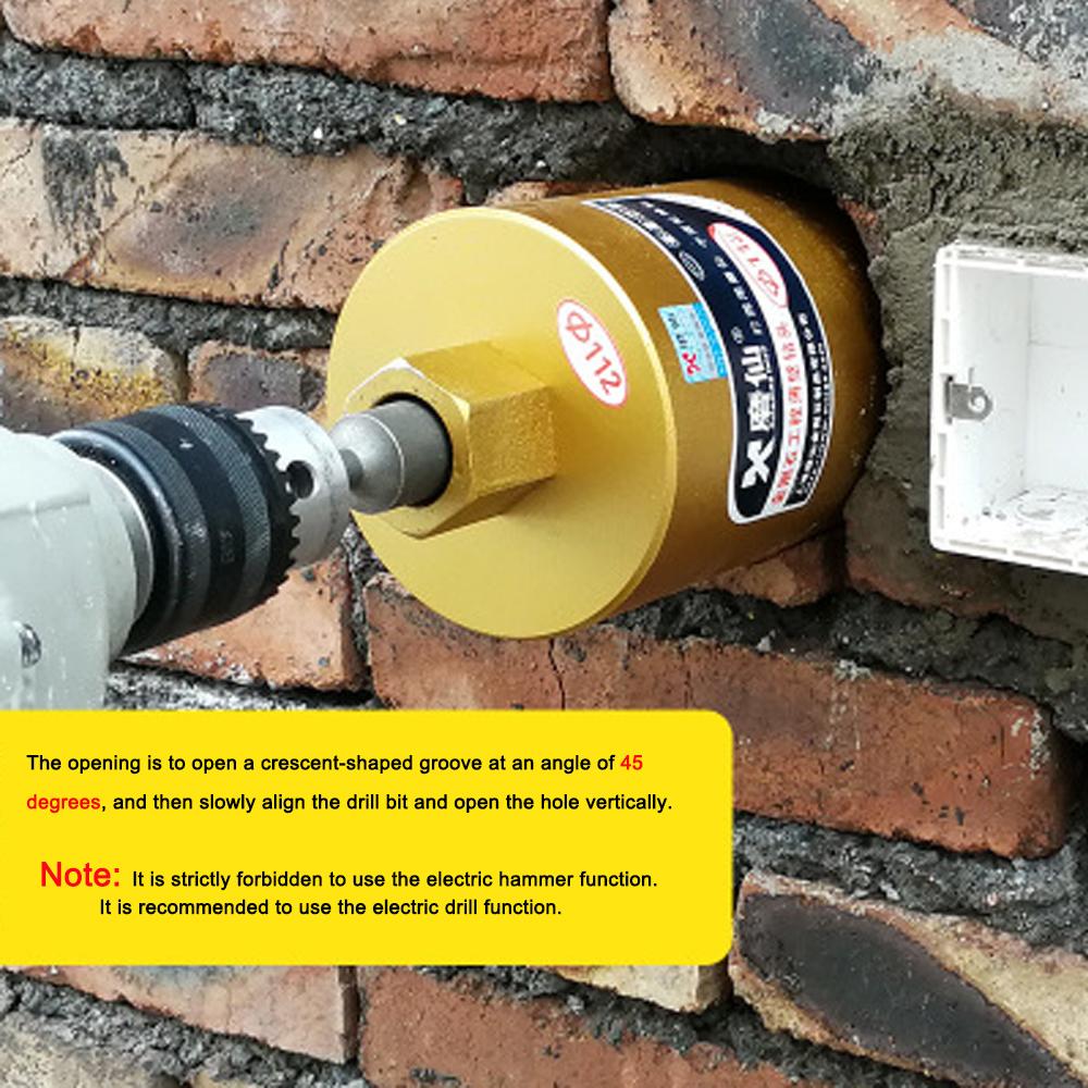 Hole Diameter : 56mm WEI-LUONG Screw Thread M22 Diamond Water Drill Bit Concrete Perforator Core Drill Brocas para Drill