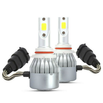 2 X LED Headlight HB4 9006 Fog Light Bulbs For Toyota Sienna 2001 2006 Headlight Bulbs Car Headlight Automobile Headlight image