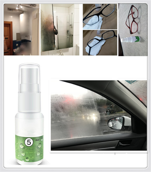 Car Accessories Rearview Mirror Anti-fog Agent Bathroom Glass for BMW E61 E60 E63 F07 F10 F11 M5 Z4 E85 E89 i8 and i3 E39 image