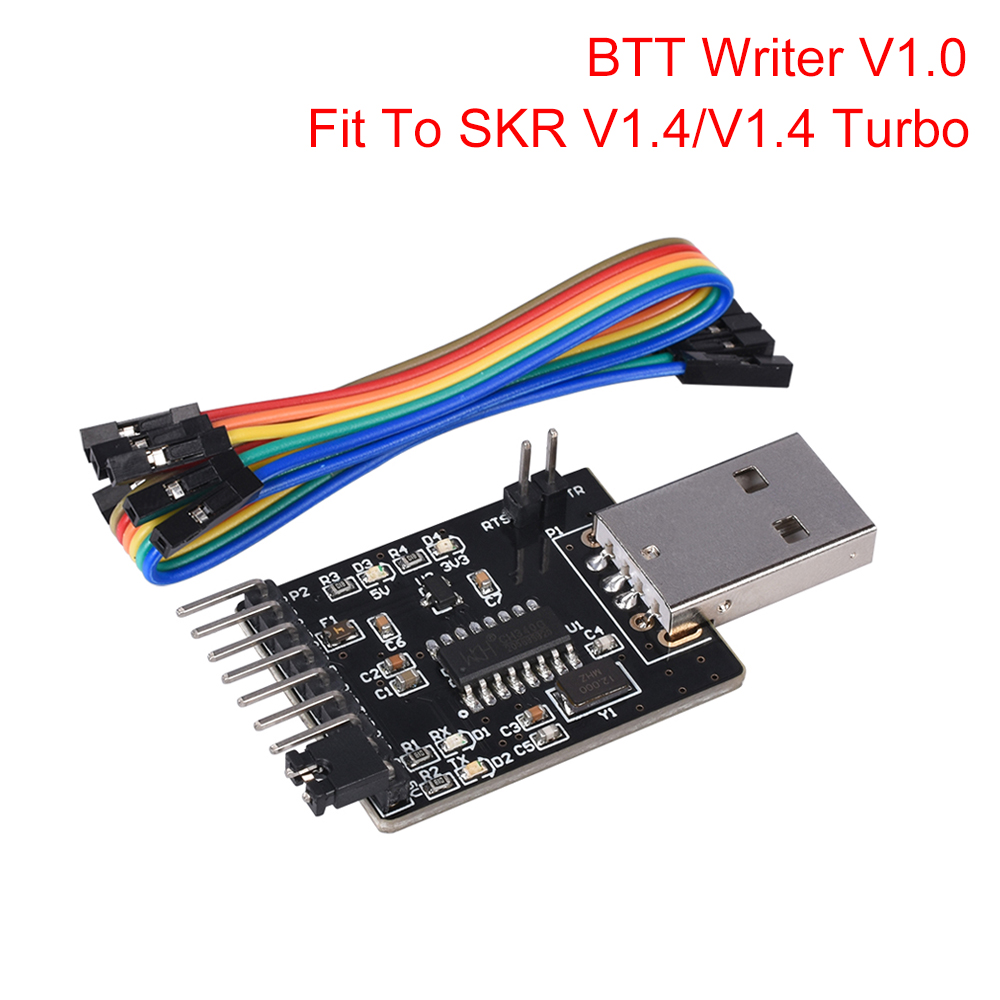 BIGTREETECH BTT Writer V1.0 Module To ESP-01S WIFI Module 3D Printer Parts For SKR V1.4/SKR V1.4 Turbo Control Board