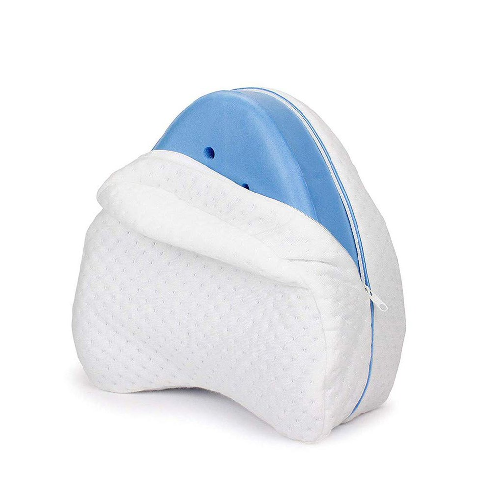 Memory Cotton Leg Pillow For Sleeping Orthopedic Sciatica Back Hip Joint Pain Relief Thigh Leg Pad Cushion Home Memory Foam
