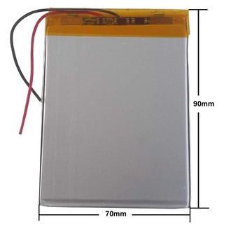 3500 Mah Universal Tablet Battery For LEXAND SC7 PRO HD Inner 3.7V Polymer Li-ion Battery Replacement 357090 1