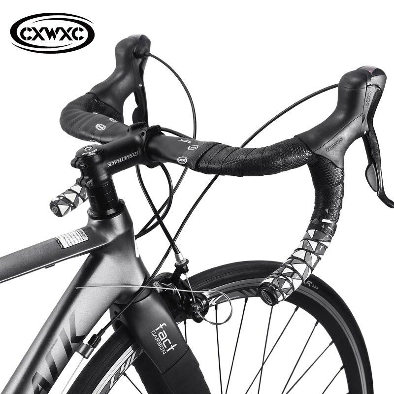 CXWXC силиконовая противоскользящая велосипедная лента для руля, ударопрочный дорожный велосипед, Велосипедная вилка, лента липучка, красочная лента для руля MTB