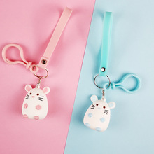 2019 New Fashion Keychain mouse Pendants DIY Men Jewelry Car Key Chain Ring Holder Souvenir For key ring Give a small Gift