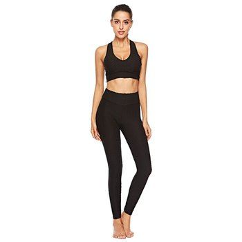 Sport Leggings Women Gym High Waist Push Up Yoga Pants Jacquard Fitness Legging Running Trousers Woman Tight Sport Pants women high waist sequin gradient sport push up slim gym running fitness elastic leggings pants outdoor bling bling casual
