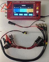 цена на LCR02 common rail diesel fuel electromagnetic injectors test EUI/EUP ZME DRV valves injector LCR tester