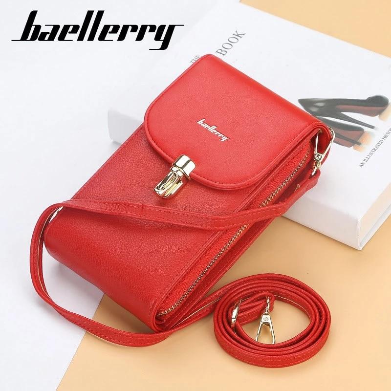 2021 Fashion Women Designer Bag Wallet for Phone Crossbody Shoulder Bag Big Card Holders New Purses and Handbags Clutch for Girl