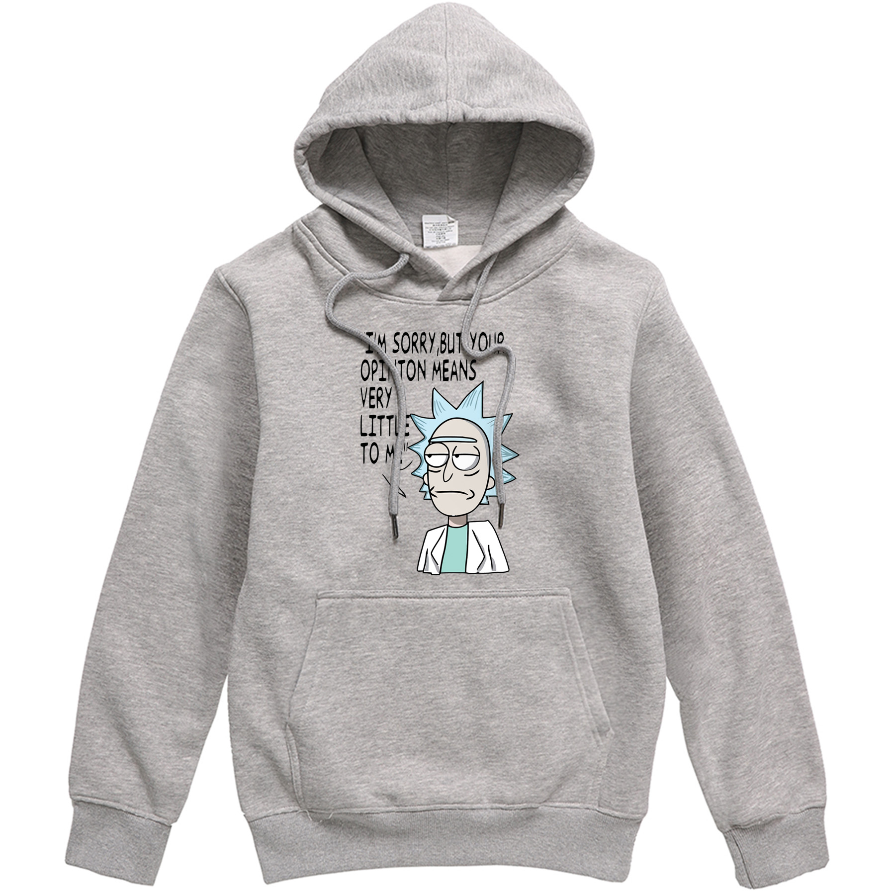 2019 Autumn Mens Hoodies Rick And Morty Male Brand Pullover Funny Cartoon Men's Streetwear Sweatshirts Casual Hip Hop Tracksuits