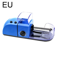 1pc Plug Electric Easy Automatic Cigarette Rolling Machine Tobacco Injector Maker Roller Drop Shipping Smoking Tool Portable diy electric cigarette machine easy automatic making rolling machine tobacco electronic injector maker roller smoking tool
