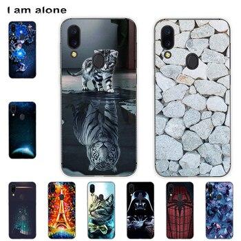Перейти на Алиэкспресс и купить Чехол для мобильного телефона I am alone для Umidigi A3 /A3 Pro/ A3S/ A3X Solf TPU, Модный чехол для телефона, бесплатная доставка