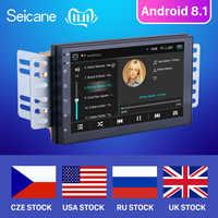 Seicane Android 8.1 7 zoll 2 Din Universal Auto Radio GPS Multimedia Unit Player Für Volkswagen Nissan Hyundai Kia toyata CR-V