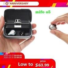 цена на Mifo O5 Bluetooth 5.0 True HIFI Wireless Earphones IPX7 Waterproof Sports Binaural Mini Earbuds In-Ear with Charging box