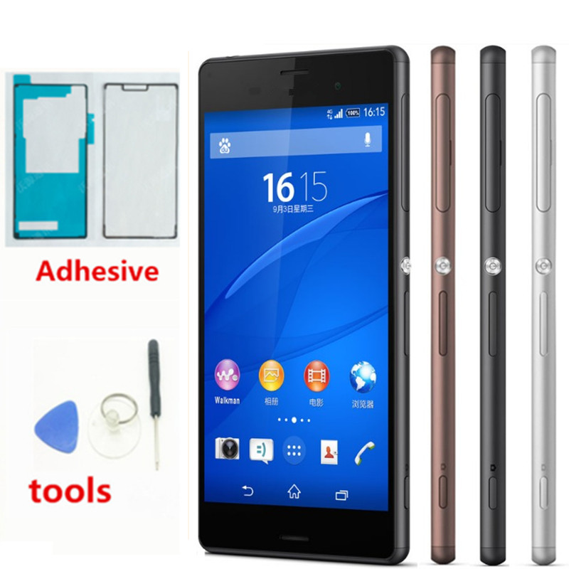 Display For <font><b>Sony</b></font> Xperia <font><b>Z3</b></font> Display Touch Screen with Frame Digitizer Original For <font><b>Sony</b></font> <font><b>Z3</b></font> LCD Display Replacement E6553 <font><b>D6603</b></font> image