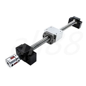 Image 5 - 16mm Linear Rail ชุด: ballscrew SFU1605 พร้อม end maching + Linear ท่องเที่ยว SBR16 พร้อมแบริ่งเชิงเส้นบล็อก SBR16UU CNC Z แกนอะไหล่