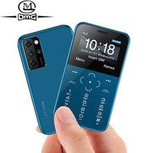 Pequeno mini telefones celulares gsm único sim novo desbloqueado barato telefone celular botão telefone única câmera