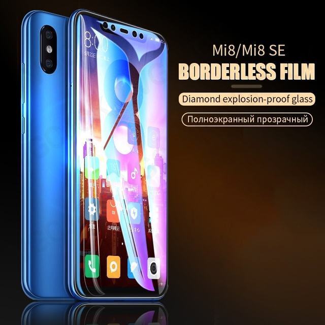 9D Full Cover Tempered Glass For Xiaomi Mi 8 SE A2 Lite Mix 2 2S 3 Protective Glass Film On the Mi 6 6X Max 2 3 Screen Protector 2