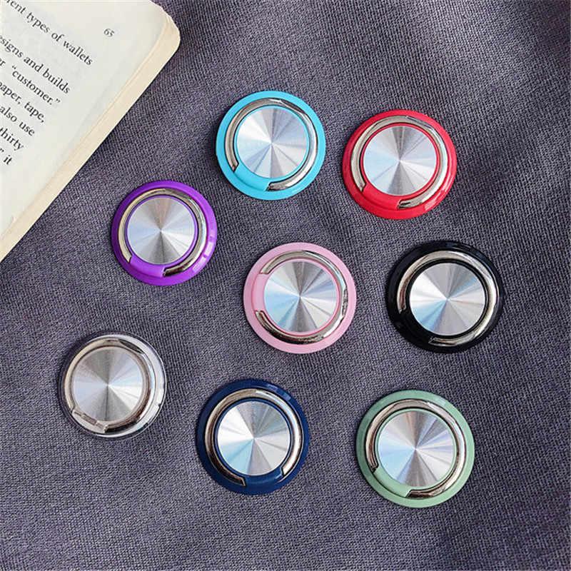 CD Hoa Văn Nhẫn Ổ Cắm Thông Minh Vòng Kim Loại Chân Đế Giá Đỡ Điện Thoại Gắn Trên Xe Hơi Cho Samsung Galaxy Ốp Lưng