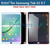 AMOLED LCD Display For Samsung Galaxy Tab S2 9.7 LCD Screen for Samsung T810 T815 T817 T819 LCD Assembly Touch Screen Digitizer