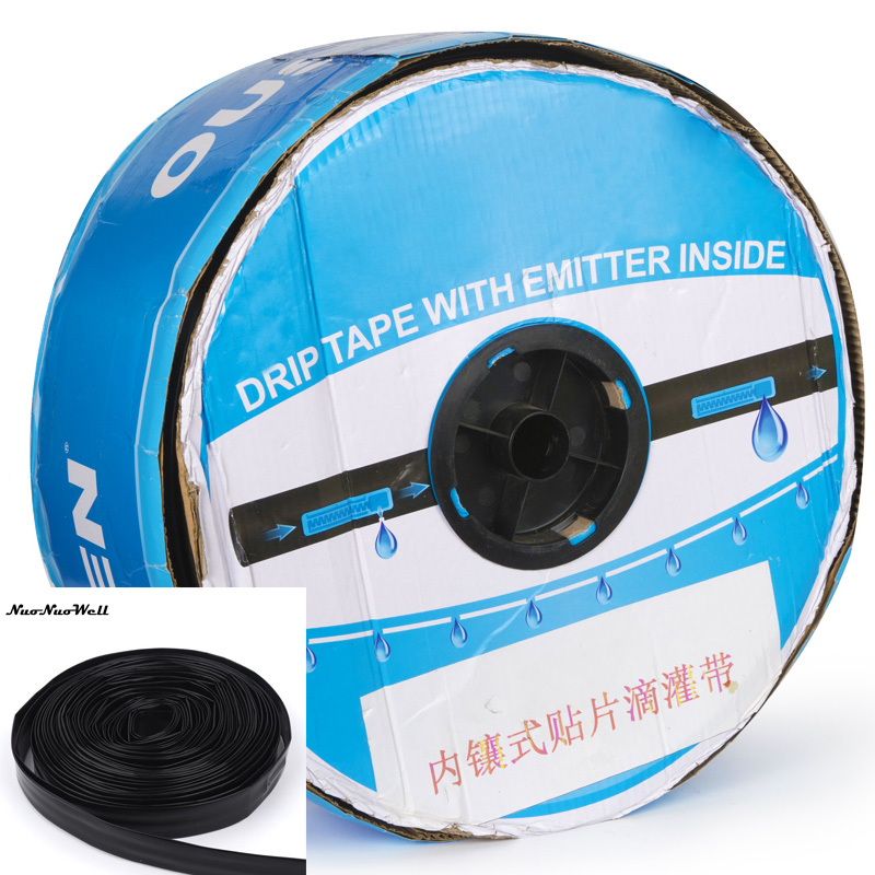 Agriculture Irrigation Drip Tape 16mm Drip Trickle 0.2mm Thickness 10/15/20/30cm Dripper Space For Greenhouse Watering System