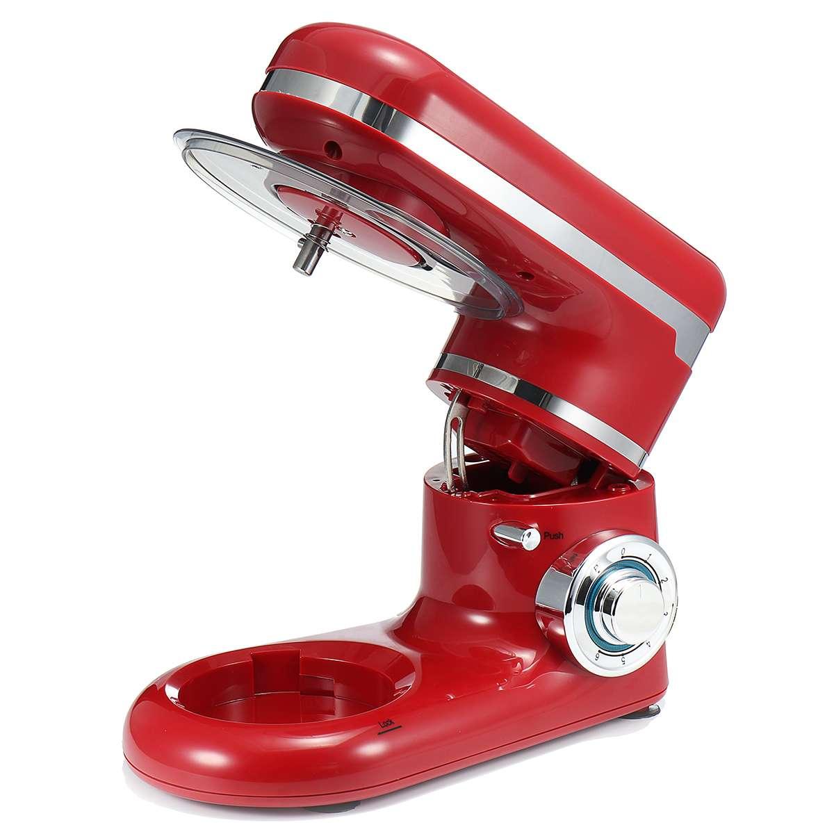 4L große schüssel 6 speed Haushalt Küche chef Elektrische Food Stand Mixer Schneebesen Teig Creme Mixer entsafter fleisch fleischwolf - 3