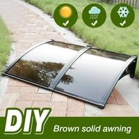 2 colors Muitl Size Door Window Canopy Awning Top Quality Anti UV Rain Shelter Sun Shade Tent toldos outdoor furniture HWC