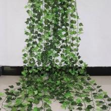 Fake Foliage Vine Flowers Wreath Creeper Garland-Plants Leaf Artificial-Ivy-Leaf Home-Decor