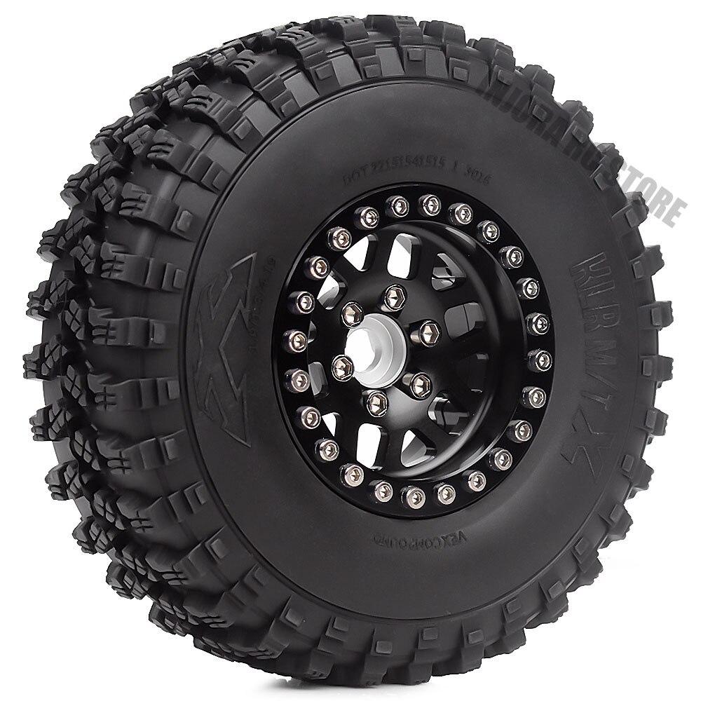 4Pcs 1.9inch Rock Terrain Truck Tires&1.9