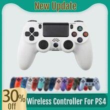 Joystick Controller Bluetooth-4.0 Wireless-Gamepad for PS4 New Update Light-Bar