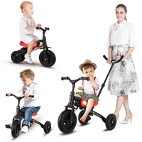 Genuine nadle riding toy stroller tricycle 1 3 6 years old children folding bike children scooter