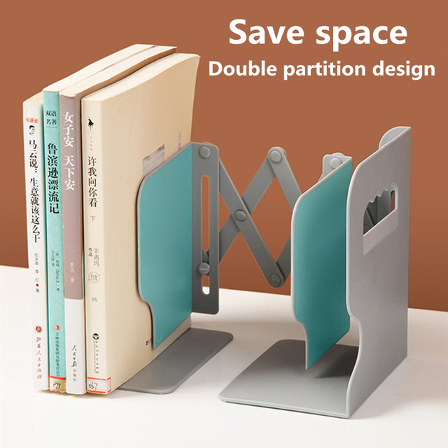 The Freedom To Adjust Bookshelf  Bookends  2