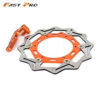 270MM Front Floating Brake Disc Rotor & Caliper Bracket Adapter For KTM EXC SX MX XCW EXCF XCF XC SXF 125 250 300 350 450 525