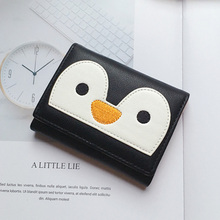 New Fashion PU Leather Women Wallet Cartoon pattern print Hasp Clutch Money Coin Purse Card Holder Short Korean Style wallet цена в Москве и Питере