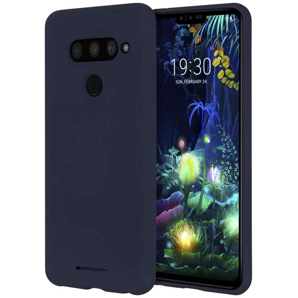 สำหรับLG G8 G7 G6 V40 V50 ThinQ V30 +,g8S GoosPery Case oft Feeling Jelly [บางยืดหยุ่น] [Perfect Fit] TPU