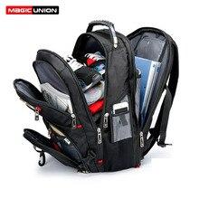 Волшебный Юнион Оксфорд мужской рюкзак для ноутбука Mochila Masculina мужской большой водостойкий походный рюкзак багаж и дорожные сумки