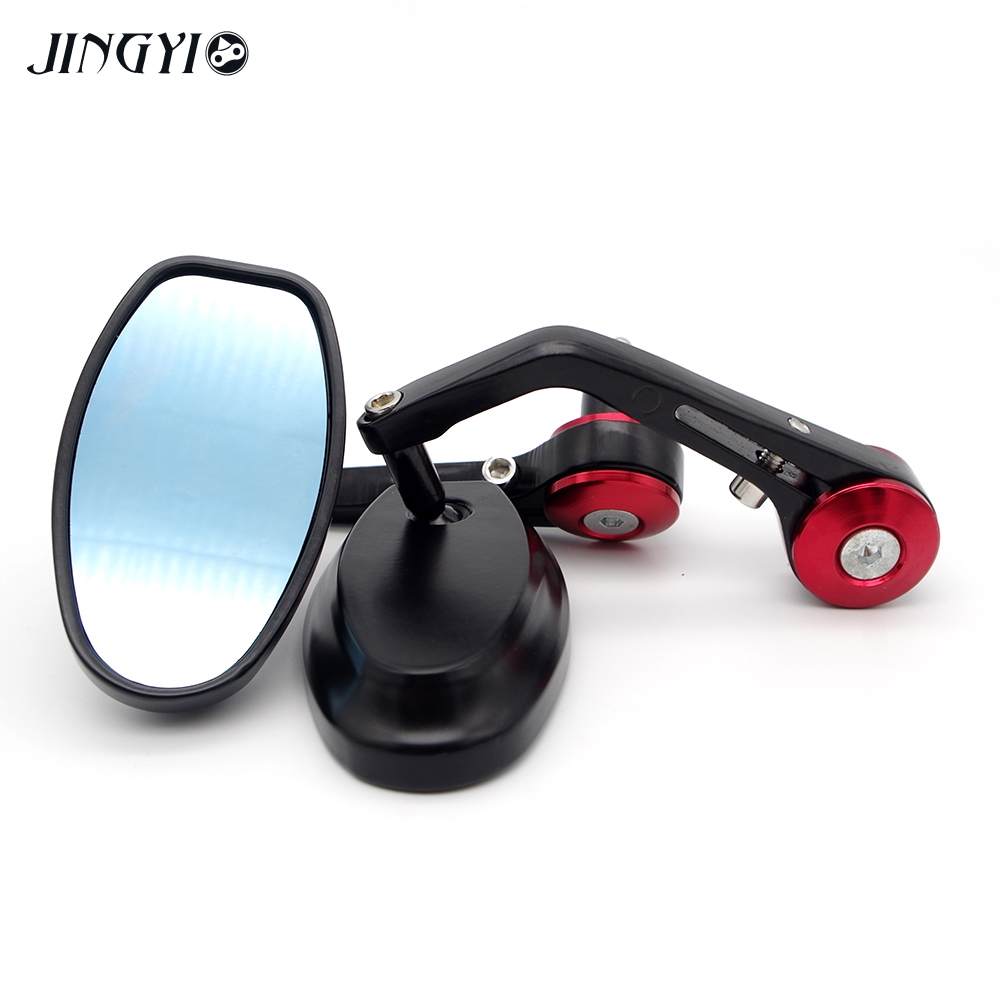 Universal motorcycle rearview mirror For aprilia sportcity bmw r 1200 gs <font><b>yamaha</b></font> dt 50 <font><b>yamaha</b></font> <font><b>fzs</b></font> 600 fazer moto <font><b>accessories</b></font> image